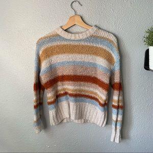 American Eagle Striped Sweater size small